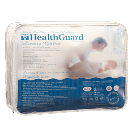 Mattress Protector Standard HealthGuard Luxury Quilted